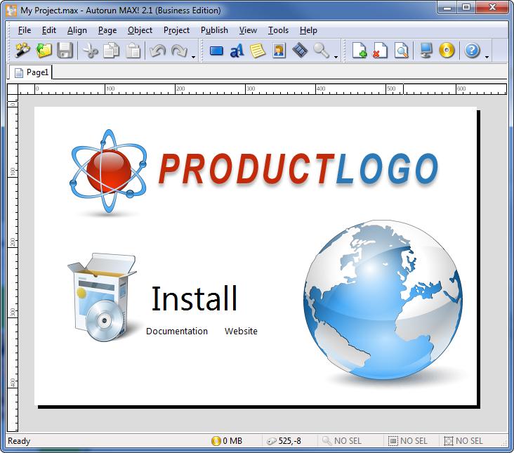 autoplay menu builder templates - autorun cd dvd menu creator autorun max 2 indigo rose