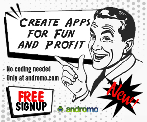 Make Your Own App with Andromo